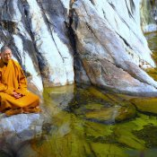 Meditation am Drachensee